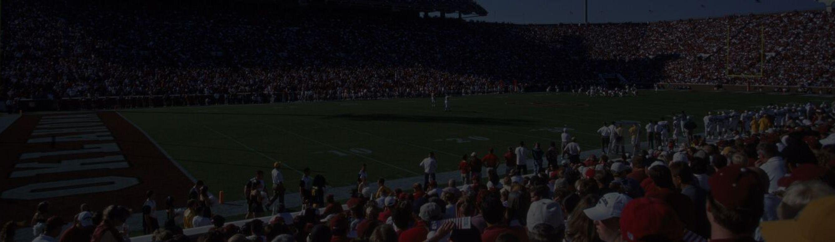 Oklahoma Memorial Stadium in Norman, Oklahoma