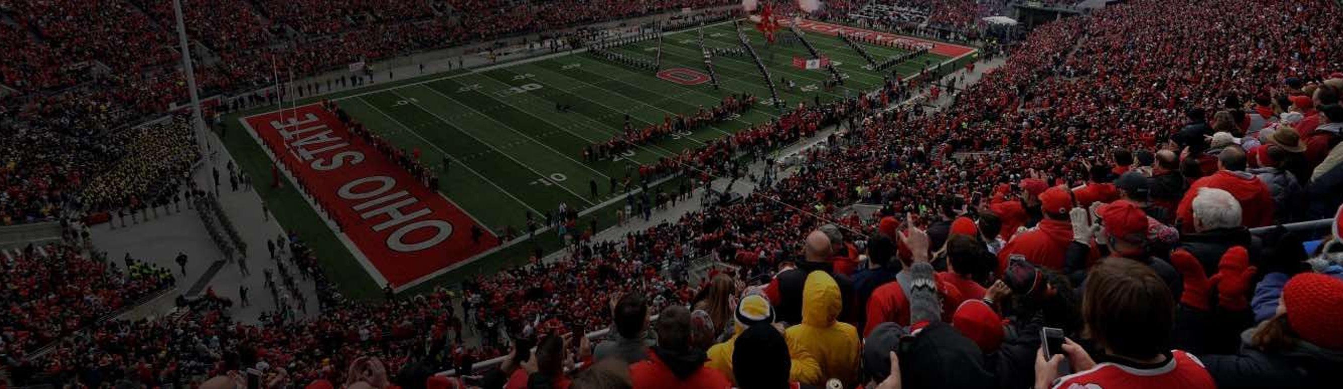 Ohio Stadium packed on game day