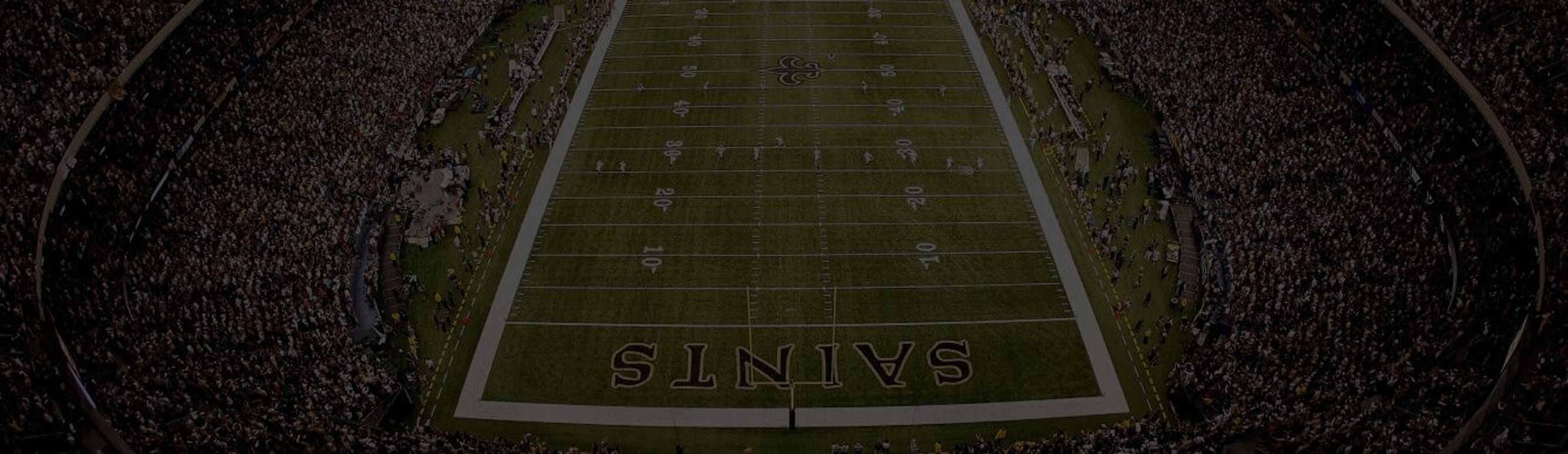 Atlanta Falcons v New Orleans Saints at the Superdome in New Orleans, Louisiana.