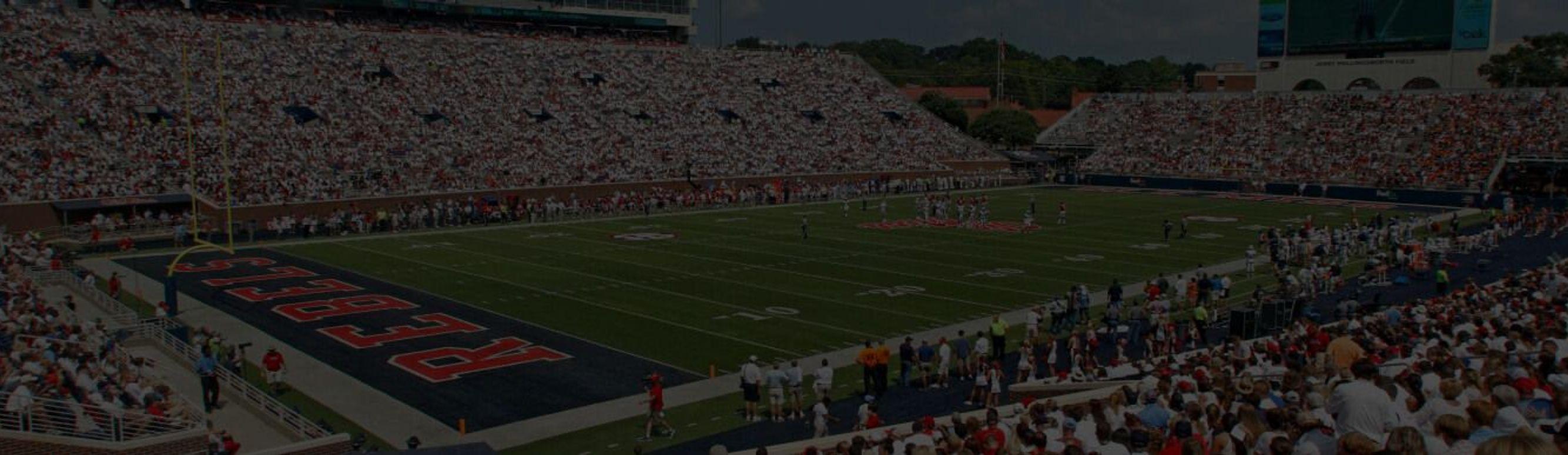Vaught-Hemingway Stadium in Oxford, Mississippi.