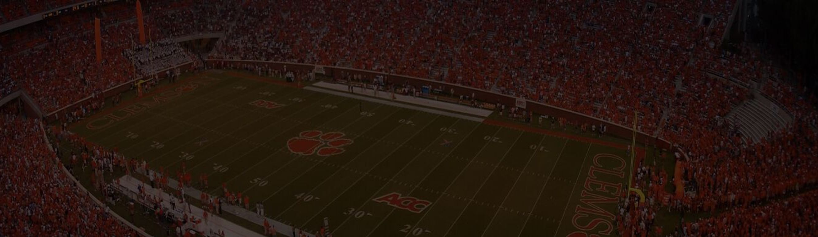 Clemson Memorial Stadium in Clemson, South Carolina