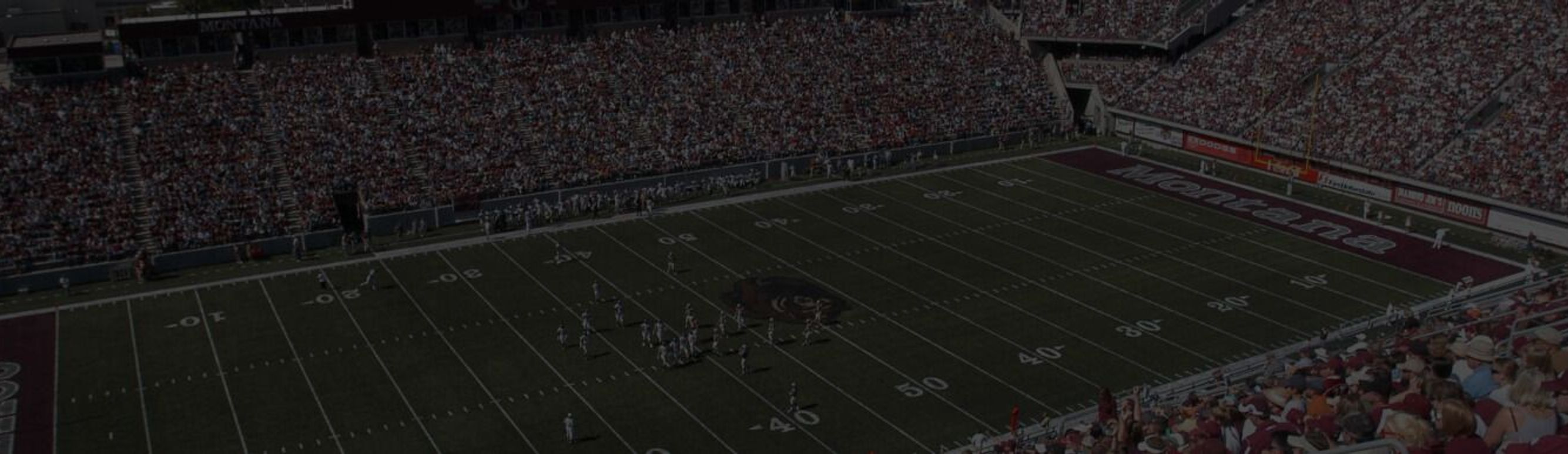 Washington-Grizzly Stadium during a Montana Grizzlies game