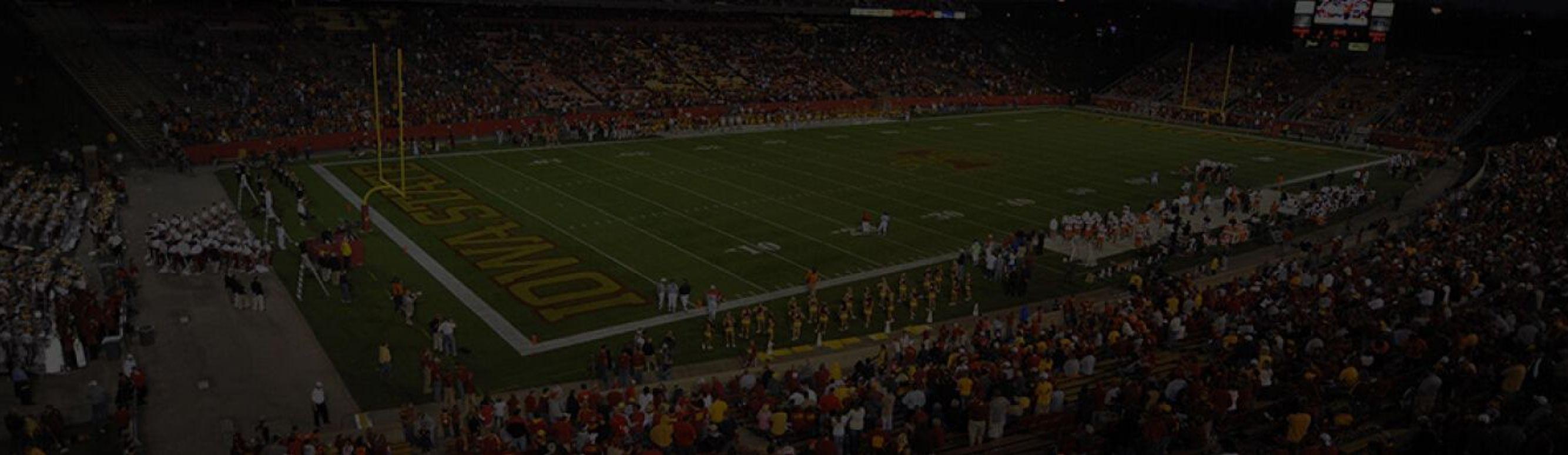 Jack Trice Stadium in Ames, Iowa.