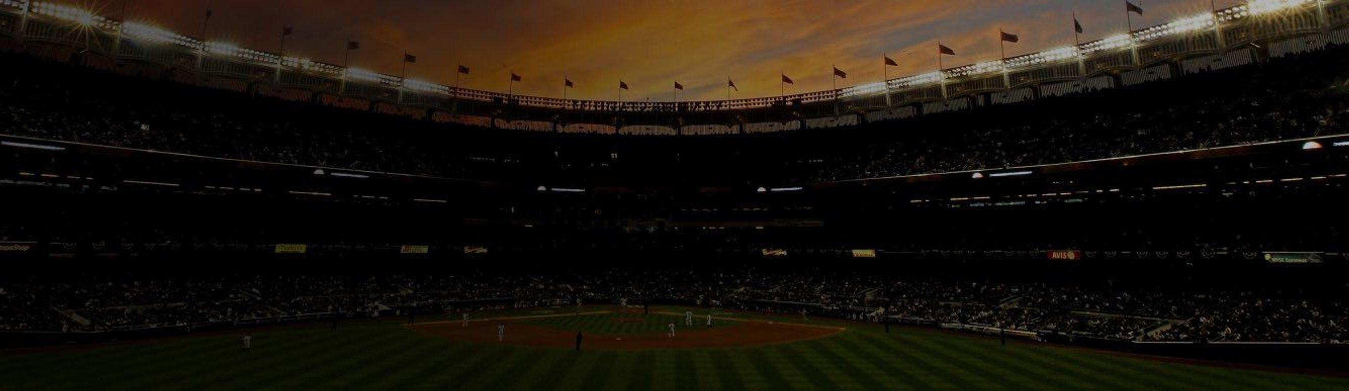 Yankee Stadium at sunset