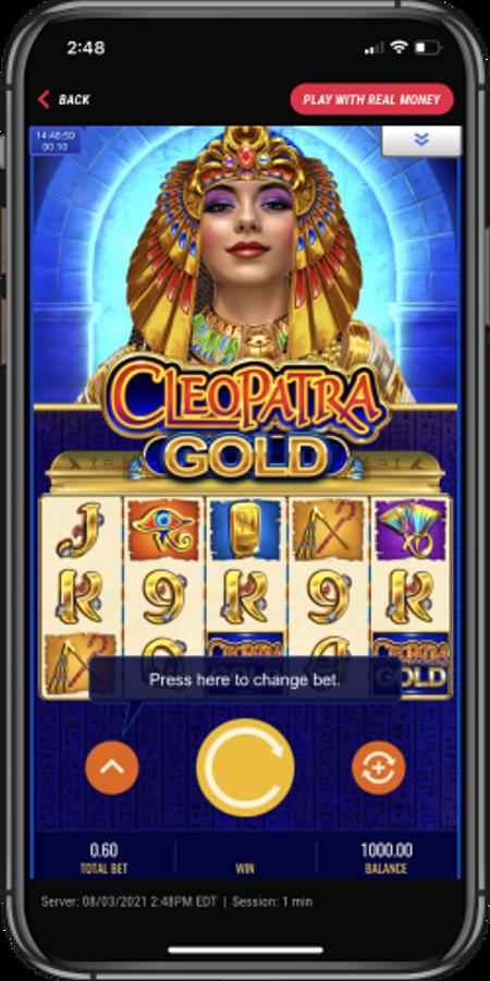 Pointsbet casino Cleopatra game