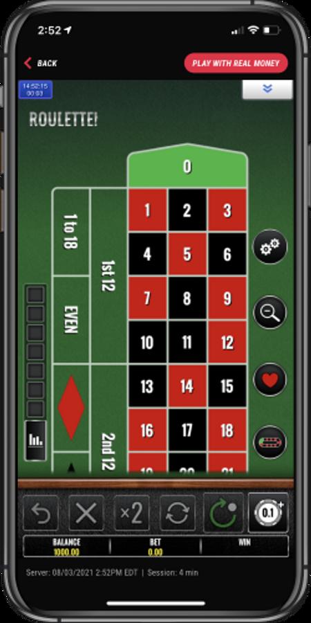 Pointsbet mobile roulette