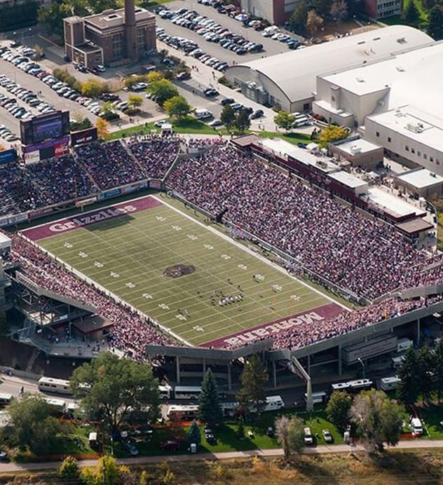 Montana stadium